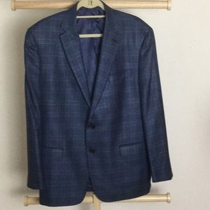 Ralph Lauren blue with black stripes sports jacket